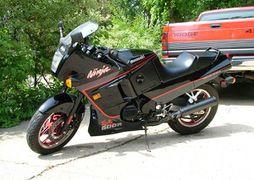 Kawasaki ZX600C: history, specs, pictures - CycleChaos