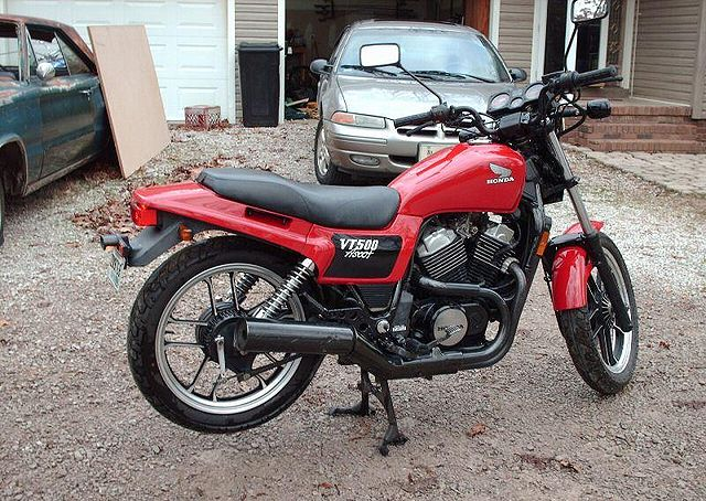 1984 honda shadow 500 manual