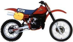 Honda CR500R: history, specs, pictures - CycleChaos