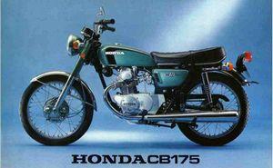 Honda CB175K: review, history, specs - CycleChaos
