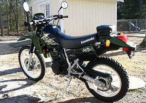 2003 kawasaki klr250 in green