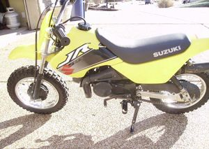 Suzuki jr50 cyclechaos 2000 suzuki jr50 in yellow freerunsca Images