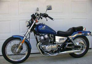 Beautiful 1986 Honda Rebel 250 (CMX250C) In Candy Eiger Blue
