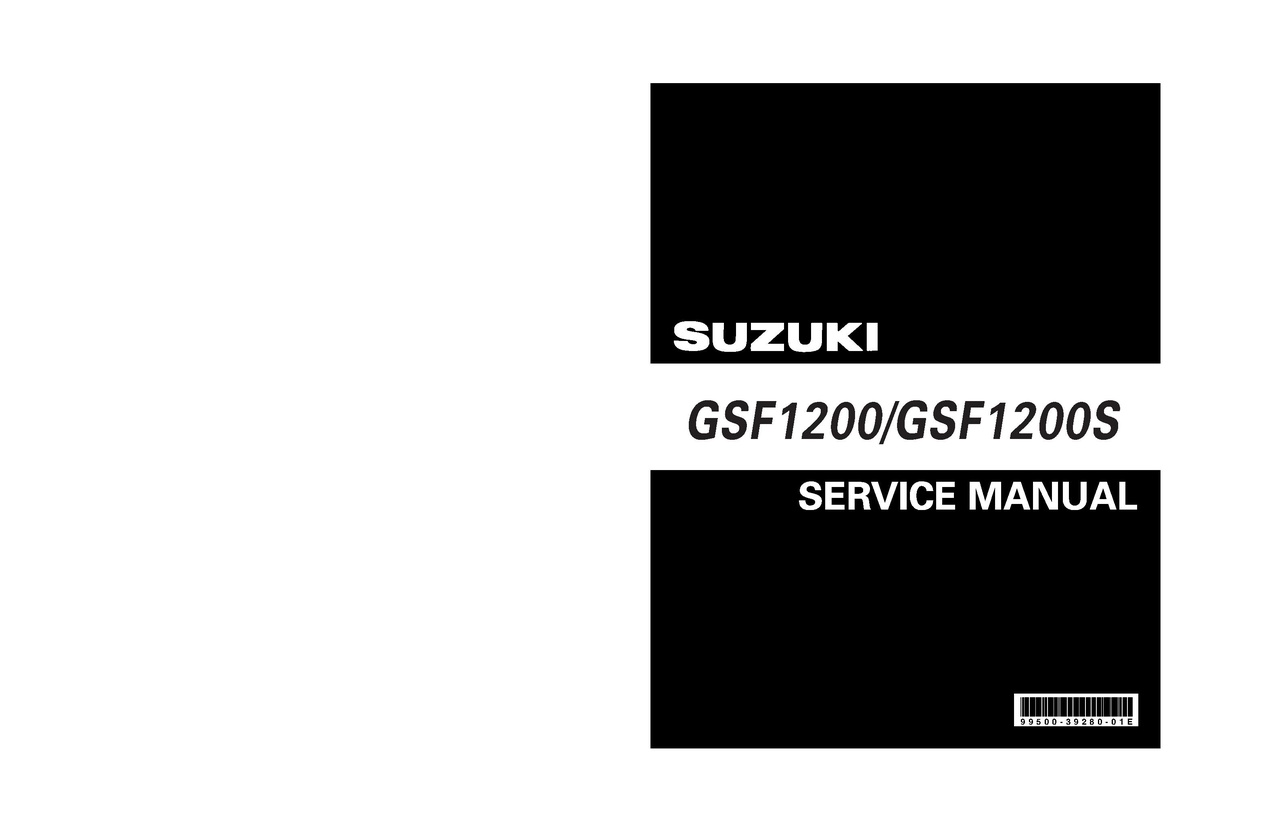 File:Suzuki GSF1200K6 Service Manual.pdf