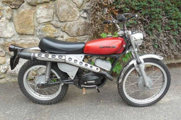 1974 Benelli 125 Panther