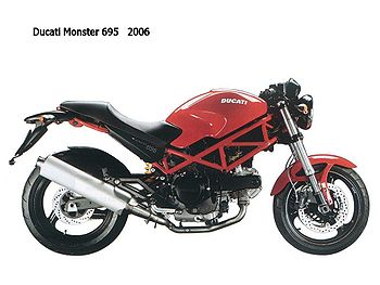 ducati monster 695 cyclechaos. Black Bedroom Furniture Sets. Home Design Ideas