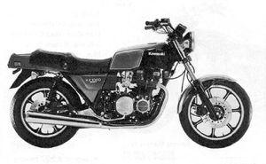 Kawasaki KZ1000E - CycleChaos
