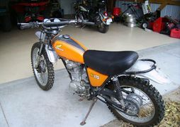 Honda XL175: history, specs, pictures - CycleChaos on