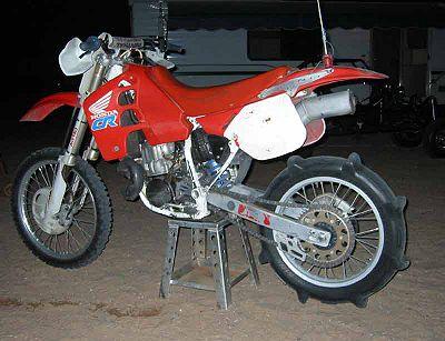 Honda CR500 Horsepower