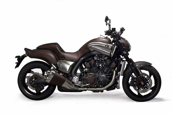 Yamaha vmax concept leather