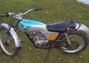 honda tl125 cyclechaos rh cyclechaos com Honda Trials Bike Honda TL125 Trials