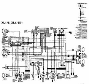 honda xl175 cyclechaos rh cyclechaos com 1976 honda xl175 wiring diagram honda xl175 wiring diagram