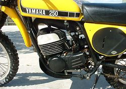 1974 Yamaha MX250A in Yellow