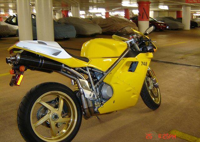 Ducati Yellow Spray Paint