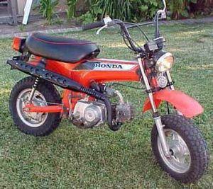 1981 Honda Minitrail 70