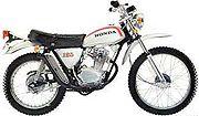 1974 1974 Honda SL125