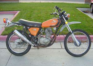 Honda XL175 - CycleChaos