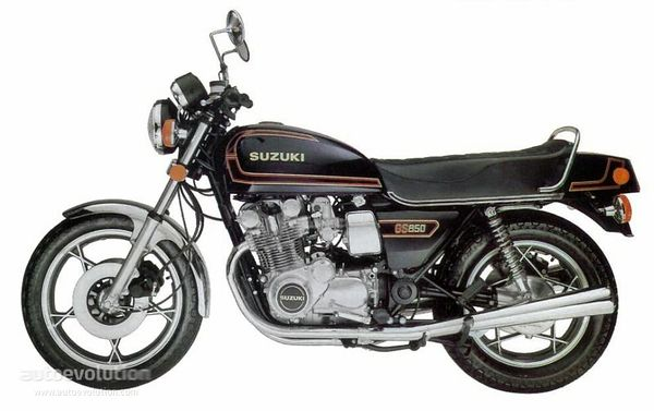 Suzuki GS850: history, specs, pictures - CycleChaos