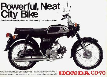 Honda CD70 - CycleChaos