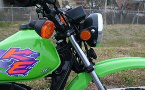 Kawasaki KE100A: history, specs, pictures - CycleChaos