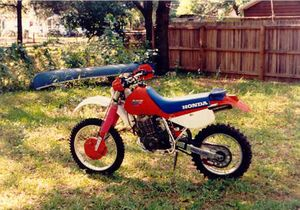Honda XR600R: history, specs, pictures - CycleChaos