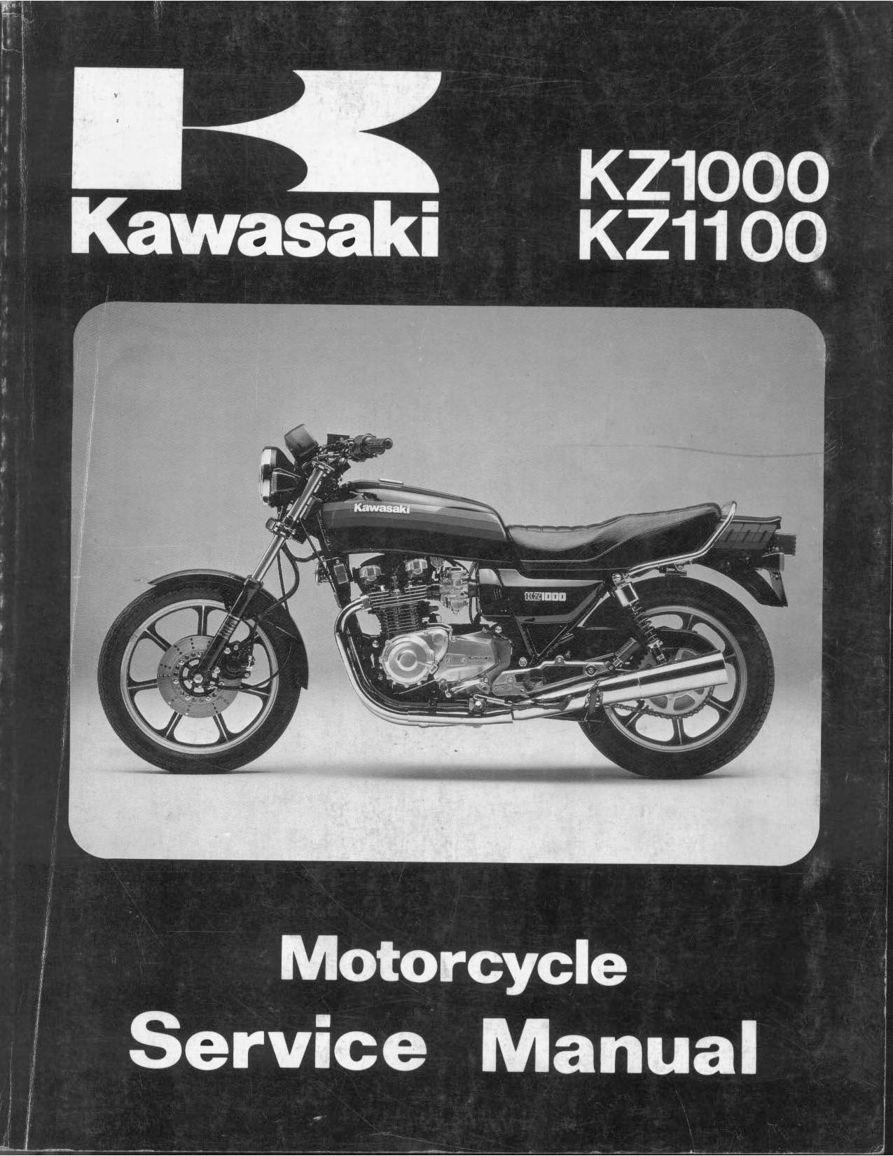 File Kawasaki Kz1000 J Kz1100 1981 1983 Service Manual Pdf Cyclechaos