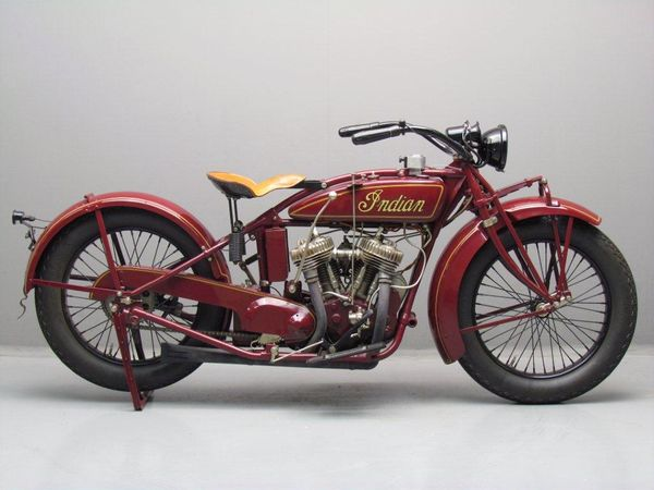 1923 - 1928 Indian Big Chief