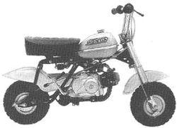 Polished Clutch Lever for Honda QA50 1970-1974