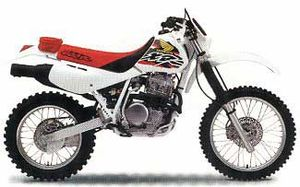 honda xr600r history specs pictures cyclechaos. Black Bedroom Furniture Sets. Home Design Ideas