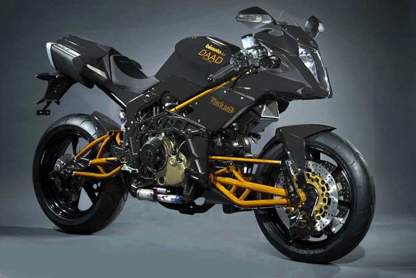 2009 Bimota Tesi 3D Rock Gold