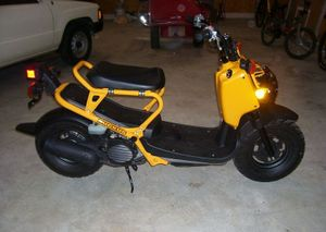 Honda Ruckus - CycleChaos